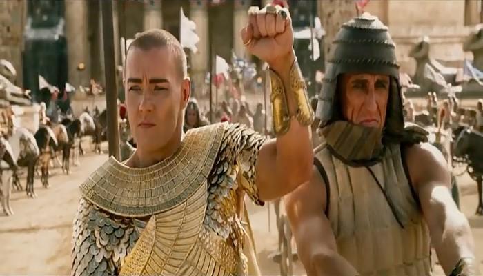 """المغرب يمنع عرض فيلم """"الخروج:آلهة الملوك"""" بسبب مشهد يمثل الذات الالهية"""