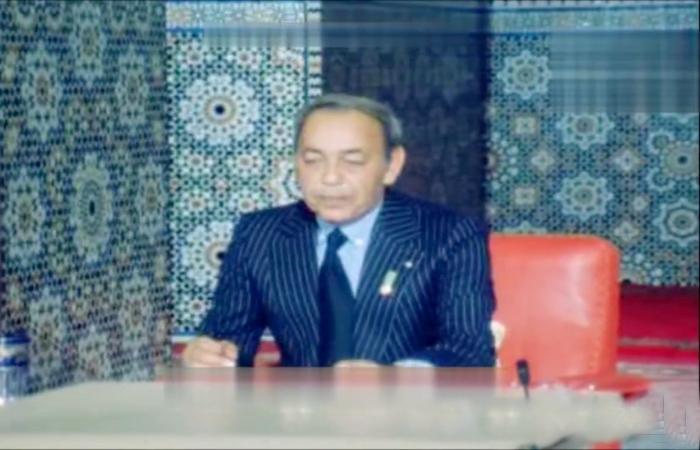 الحسن الثاني يعطي انطلاقة المسيرة الخضراء الخطاب الملكي كامل 5 نونبر 1975