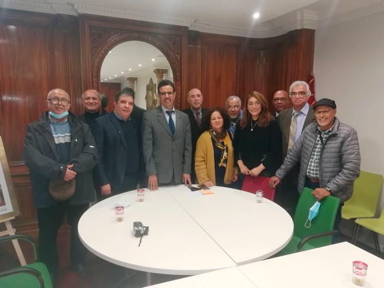 جمعيات المجتمع المدني في لقاء تواصلي مع قنصل المملكة المغربية بستراسبورغ