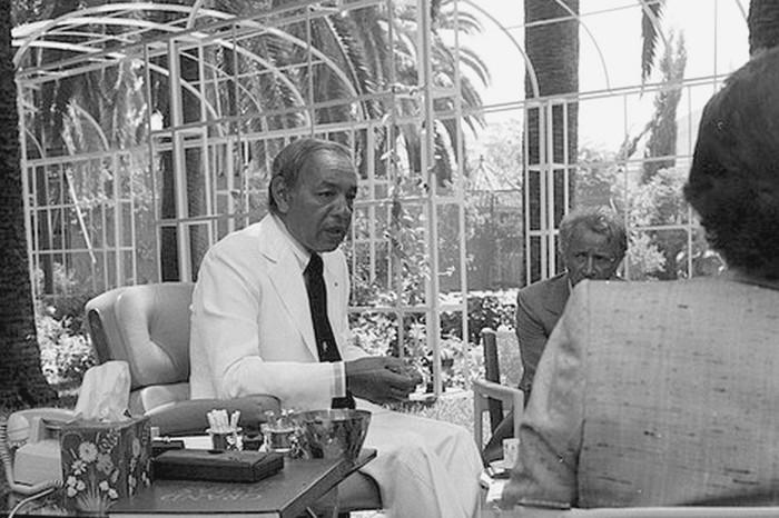 عندما تحدث الملك الراحل الحسن الثاني لأول مرة إلى صحافي مغربي